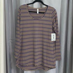 NWT Lularoe Lynnae long sleeve shirt